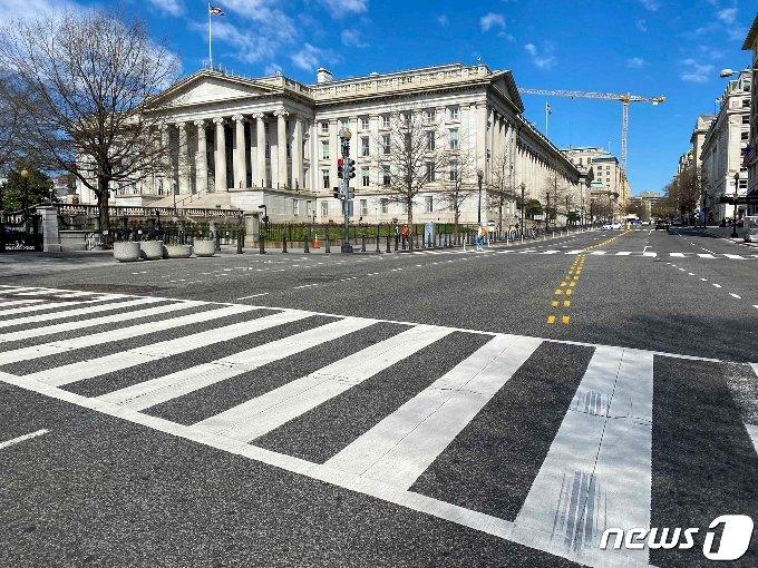 미국 재무부 청사 <자료사진> © AFP=뉴스1