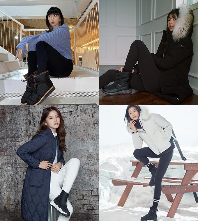 가수 태연, 배우 겸 가수 수지, 배우 한소희, 전지현 /사진=인스타그램, K2, 아이더, 네파
