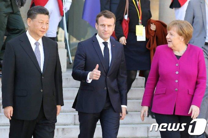 유럽연합과 중국이 상호투자협정에 원칙적으로 타결했다는 보도가 나왔다. © AFP=뉴스1 © News1 우동명 기자