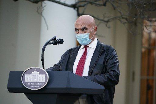 백악관이 주도하는 코로나19 백신 개발 프로그램 '초고속작전'의 몬세프 슬라위 최고책임자/사진=AFP
