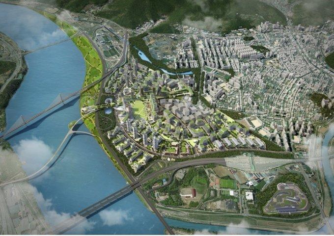 구리시 한강변 도시개발사업 조감도. /사진제공=요진산업개발