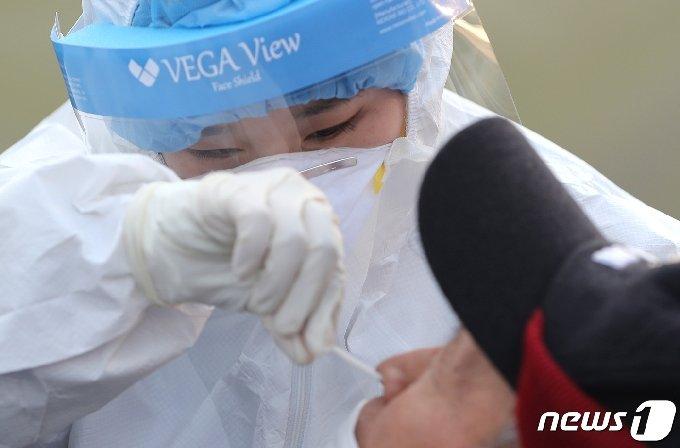 코로나19 진단 검사.(자료 사진)© 뉴스1