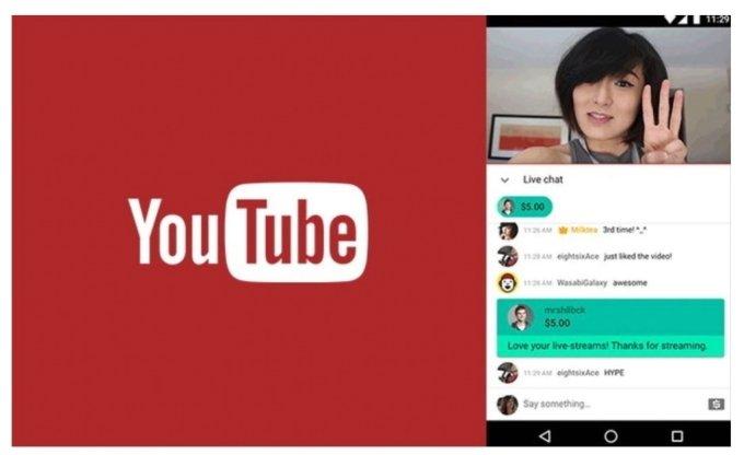 유튜브의 실시간 후원채널인 슈퍼챗/ 사진=유튜브