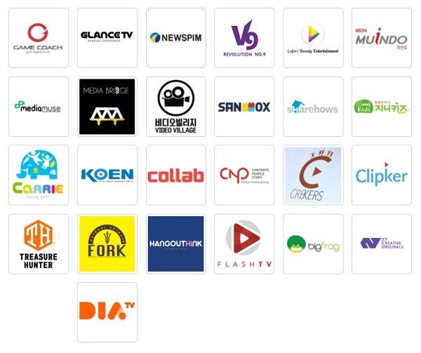 MCN 협회에 가입된 국내 주요 MCN들/사진=MCN협회
