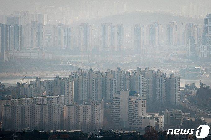 서울시내 아파트단지 모습.© News1 유승관 기자