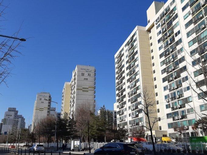 서울 강서구 가양성지2단지 아파트 전경. /사진=이소은 기자