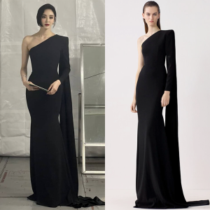 이다희 vs 모델, 몸매 강조한 '250만원대' 드레스