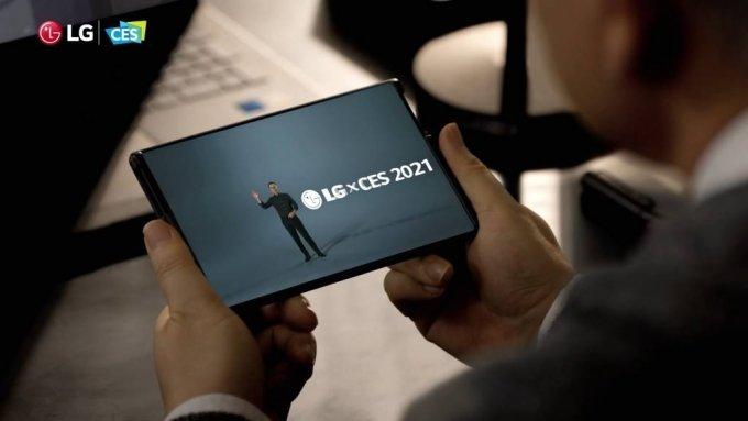 LG전자 롤러블폰 'LG 롤러블' / 사진제공=LG전자