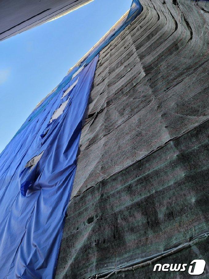 사고현장.(부산경찰청 제공) © 뉴스1