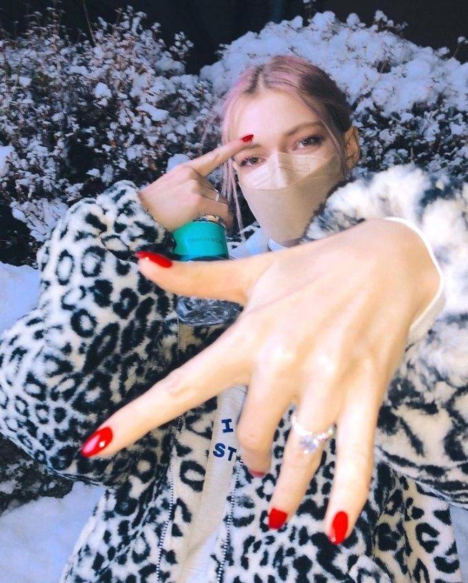 독일 출신 모델 스테파니 미초바/사진=스테파니 미초바 인스타그램