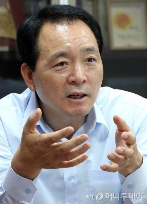 23일 국회 의원회관에서 자유한국당 성일종 의원 인터뷰 / 사진=홍봉진기자 honggga@