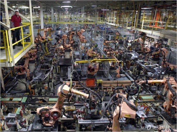 미국 앨라배마주 현대차 공장. /사진제공=현대차