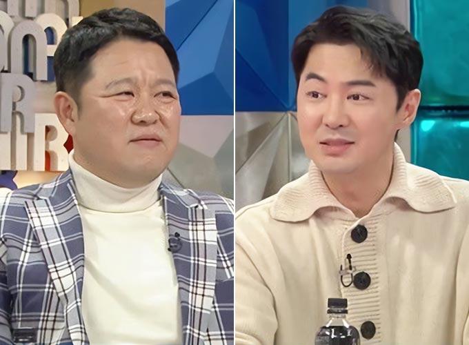 방송인 김구라, 그룹 신화 전진/사진제공=MBC '라디오스타'