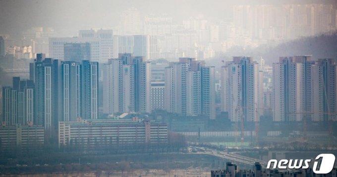 지난해 12월 27일 서울 서초구 아파트단지 모습. /사진=뉴스1