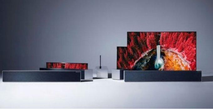 LG전자 '롤러블 TV'. 스카이워스가 공개한 제품 내 이미지와 똑같다/사진제공=LG전자