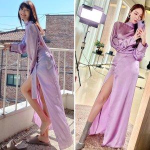 최수영 vs 제시카, 똑같은 트임 드레스 착용…