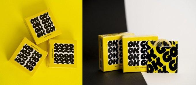 경남바이오파마가 출시한 새 콘돔 브랜드 '오케이고'(OKGO)/사진제공=경남바이오파마
