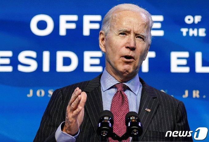 조 바이든 미국 대통령 당선인 © 로이터=뉴스1