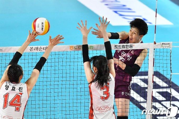 KGC인삼공사 레프트 이선우. (한국배구연맹 제공) © 뉴스1