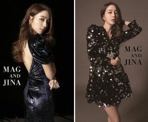 '이병헌♥' 이민정, 란제리 모델 화보…등 파인 드레스 '깜짝'