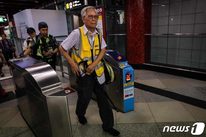 홍콩 전철 MTR의 모습./사진=뉴스1