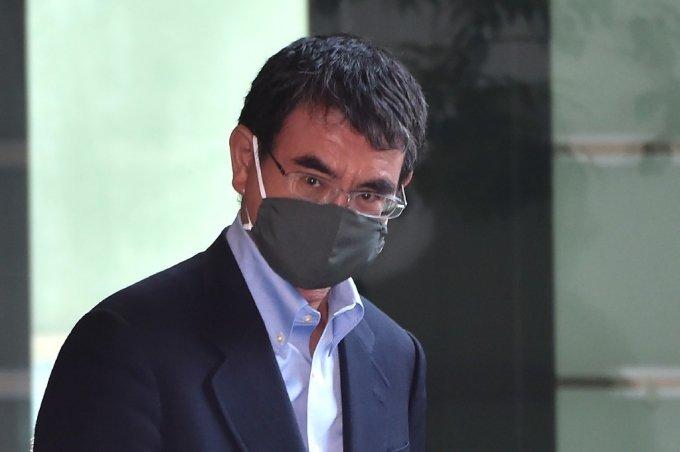 고도 다로 일본 행정개혁 담당상/사진=AFP
