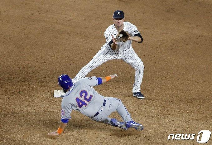 뉴욕 양키스와 뉴욕 메츠가 나란히 비시즌 광폭행보를 선보이고 있다. © AFP=뉴스1