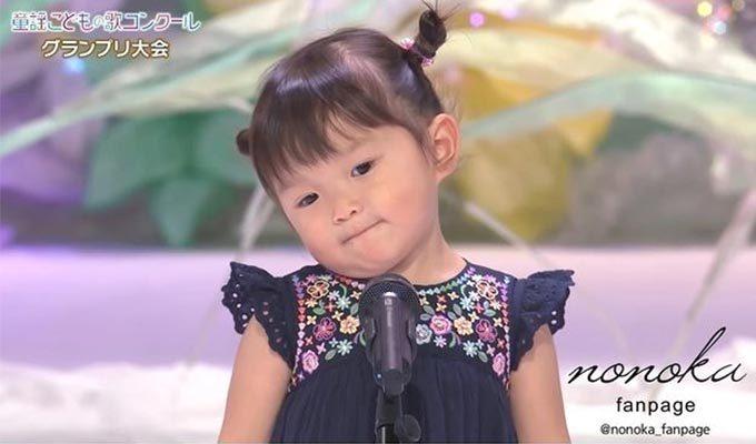일본 동요대상 은상을 수상한 어린이 무라카타 노노카 양/사진=무라카타 노노카 한국 공식 인스타그램