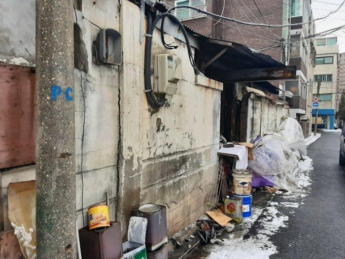 공공재개발 후보지로 선정된 양평13·14구역 일대 노후주택. /사진=이소은 기자