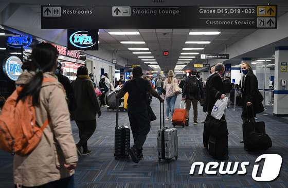 미국 버지니아주 덜레스의 덜레스국제공항 © AFP=뉴스1