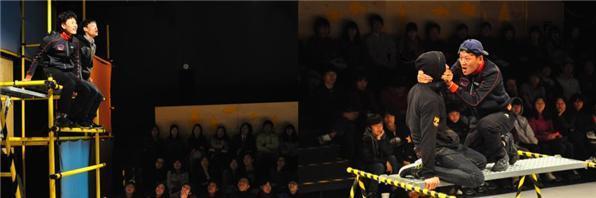 지난 2011년 국립극단의 첫 번째 청소년극 '소년이그랬다'. /사진제공=국립극단