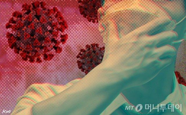 삽화_코로나19,코로나,바이러스,마스크,우한, 우한폐렴 / 사진=김현정디자인기자