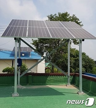 전북 정읍시가 신재생에너지 보급 확대를 통한 청정에너지 보급·확산에 나섰다. © 뉴스1
