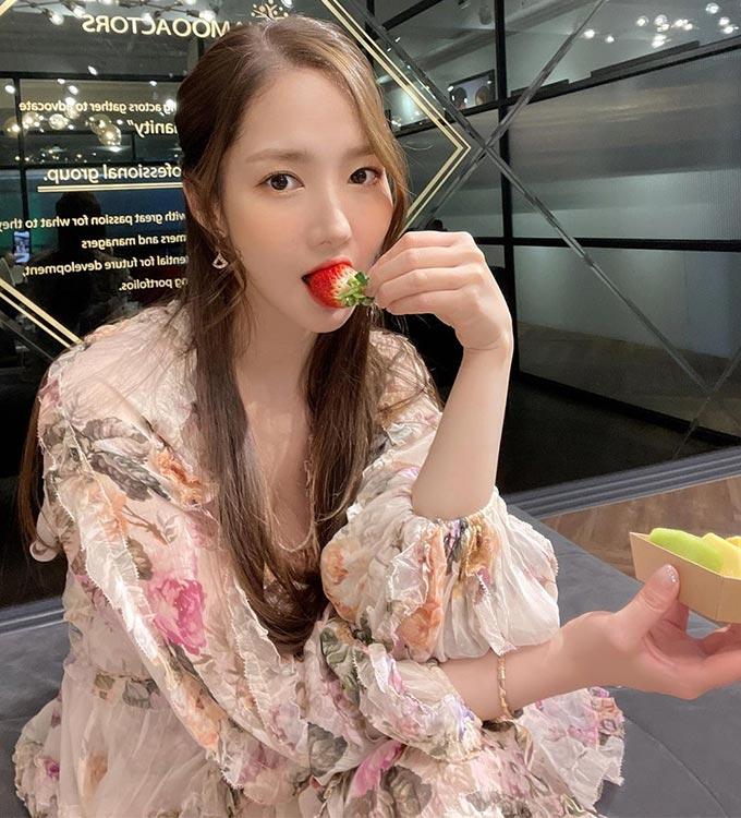 배우 박민영/사진=박민영 인스타그램