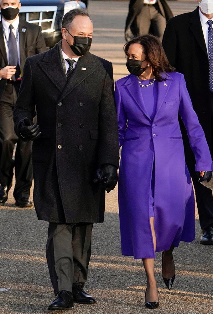 카멀라 해리스 부통령 부부/사진=Reuters/뉴스1