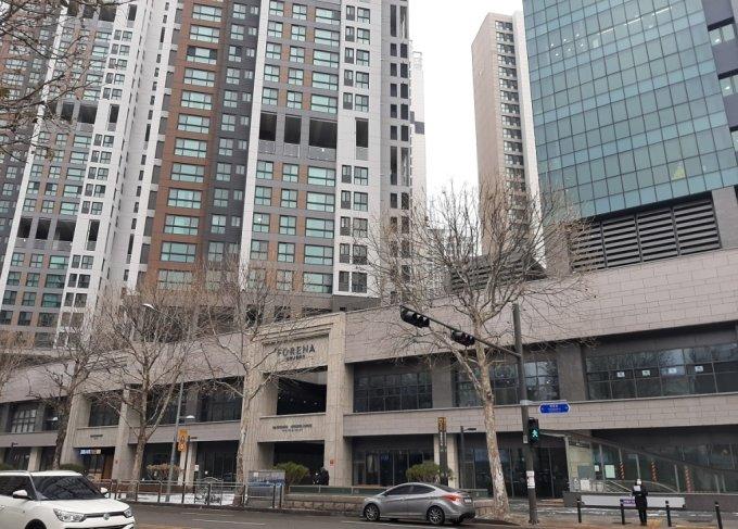서울 영등포구 영등포동 '포레나영등포센트럴' 전경. /사진=이소은 기자