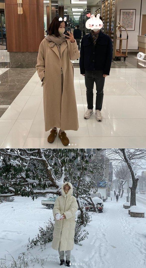 배우 한지혜 인스타그램 갈무리 © 뉴스1