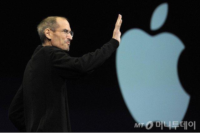 애플의 공동창업자 겸 최고경영자(CEO)였던 고 스티브 잡스. (사진제공=블룸버그)