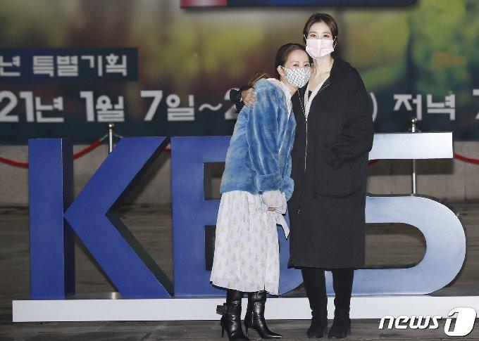 [사진] 서정희-서동주 모녀 'KBS 나들이'