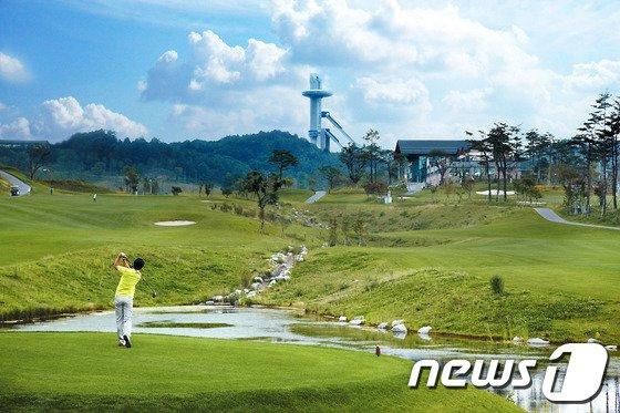 강원 평창 알펜시아리조트 골프장. (자료 사진) © 뉴스1
