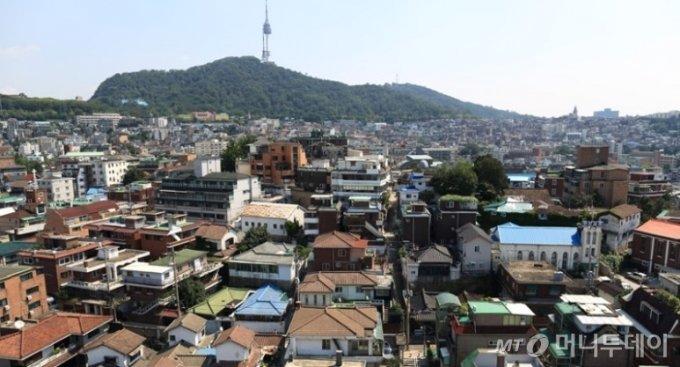 서울 저층 주택가 전경/사진= 신희은 기자