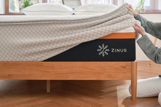 지누스가 출시한 베딩 토퍼 자료사진./사진=지누스