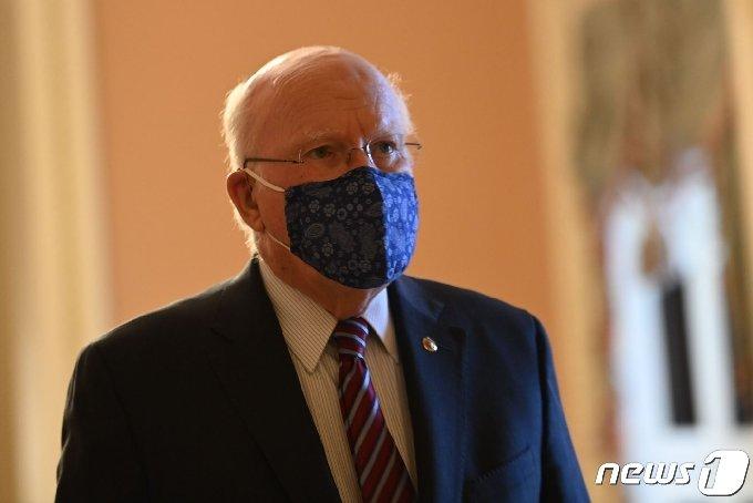 미국 민주당 소속의 패트릭 리히(버몬트) 상원 임시의장 <자료사진> © AFP=뉴스1