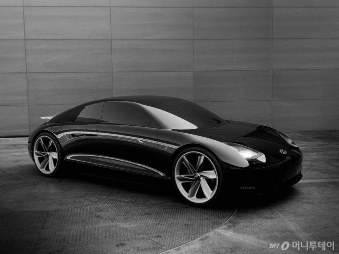 전기차 콘셉트카 '프로페시'/사진제공=현대차