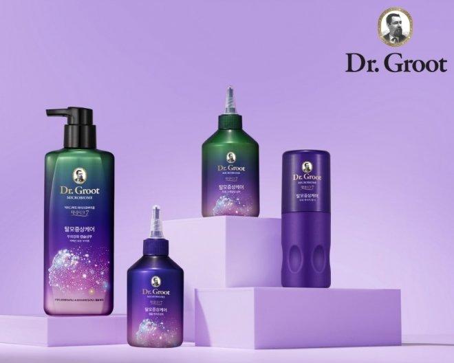 LG생활건강의 프리미엄 헤어케어 브랜드 '닥터그루트'는 론칭 3년 만에 탈모 샴푸 시장에서 급성장하며 최상위 브랜드로 성장했다 /사진=LG생활건강