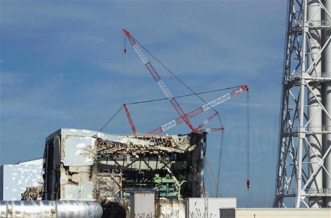 일본 후쿠시마 제1원자력발전소./사진제공=로이터/뉴스1