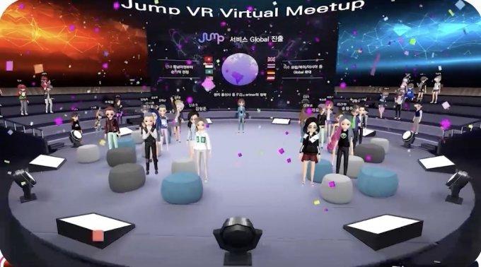 SK텔레콤이 개발한 가상 소셜 월드 '점프 VR' /사진=SK텔레콤