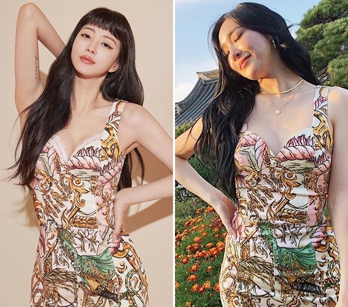 배우 한예슬, 가수 티파니영/사진=각 스타 인스타그램