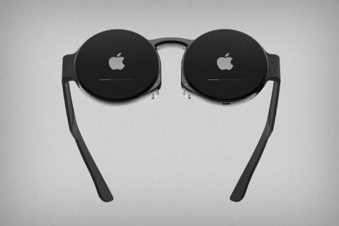 애플 AR 기반 제품 '애플 글라스' 예상 모습 /사진=폰아레나