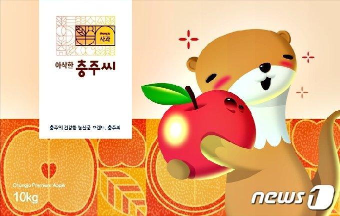 충주시 농산물 홍보 캐릭터 '충주씨'(뉴스1 DB).2021.2.12/© 뉴스1